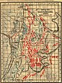 Battle map of Chickamauga, Georgia. Saturday 19 (and) Sunday, 20 September 1863. Map of the Chattanooga battle-fields, November, 1863. Orchard Knob, 23d, Lookout Mountain, 24th, Missionary Ridge, LOC 99447312.jpg