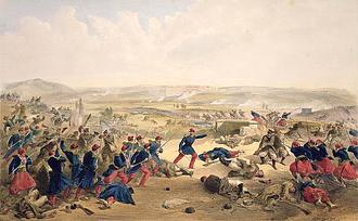 Battle of the Chernaya - Image: Battle of the Tchernaya, August 16th 1855