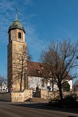 Baudenkmal Sielmingen Martinskirche 2020 BorosI