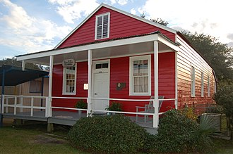 National Register of Historic Places listings in Lafourche Parish, Louisiana - Image: Bayou Boeuf School 1