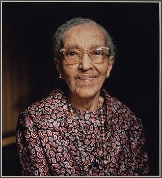 Bazoline Estelle Usher - Usher, photographed in 1982 by Judith Sedwick