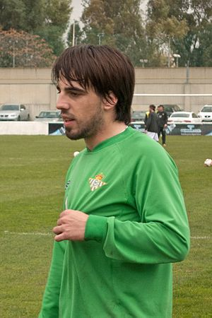Beñat Etxebarria - Etxeberria training with Betis in 2010