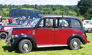 Hackney carriage - The Beardmore was an alternative taxi design used in London during the 1960s and 1970s