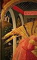 Beato Angelico, Annunciazione di San Giovanni Valdarno, 1432 ca., 02 angelo 2 paradiso terrestre e hortus conclusus.jpg