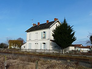 Beaupouyet - Former train station