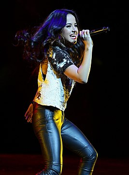 Becky G performing in December 2013 in Chicago.jpg