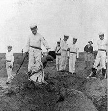 I giapponesi decapitano un presunto Boxer.