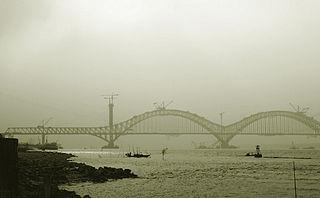 Dashengguan Yangtze River Bridge