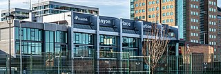 Lanyon Place railway station Railway station in Belfast