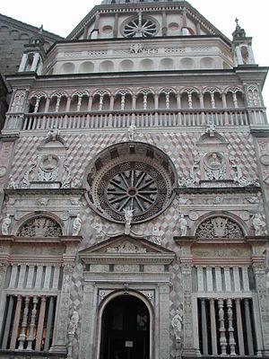 Giovanni Antonio Amadeo - The Colleoni Chapel in Bergamo.