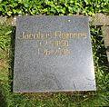 Berlin, Mitte, Invalidenfriedhof, Feld A, Grab Jacobus Reimers, Restitutionsstein, 1993.jpg