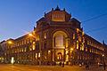 Berlin Mitte Postfuhramt Oranienburger Str abend.jpg
