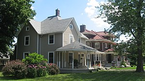 Nappanee Eastside Historic District - Berlin and Coppes Houses, Nappanee.jpg