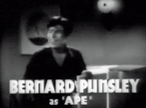 "Bernard Punsly - Punsly in trailer to ""Little Tough Guy"" (1938)"