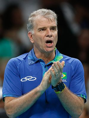 Brazil men's national volleyball team - Former head coach Bernardo Rezende.