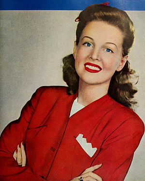Betty Jane Rhodes - Rhodes in 1942.
