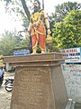 Bhageeratha statue at film nagar, hyderabad.jpg