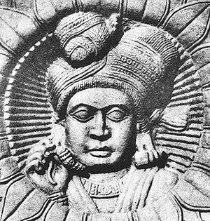 Pushyamitra Shunga - Image: Bharhut Sunga individual
