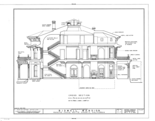 File Bidwell Mansion 525 Esplanade Street Chico Butte County Ca Habs Cal 4 Chic 1 Sheet 9 Of 10 Png Wikimedia Commons