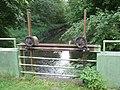 Bielefeld Lutterbach auf Höhe der Wassermühle des Hofes Meyer zu Heepen 2.jpg