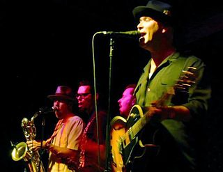 Big Bad Voodoo Daddy Contemporary swing revival band from Southern California, US