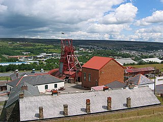 Blaenavon Industrial Landscape World Heritage Site in Blaenavon, south-east Wales