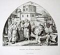 Bilder-Cyclus - Aus dem Leben Karls des Grossen, VII. Erbauung des Aachener Münsters, von Alfred Rethel, gez. J. Kehren.jpg