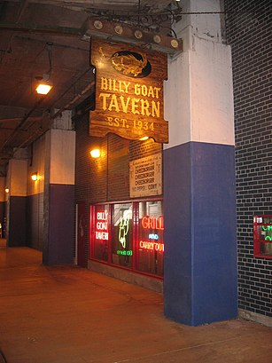 How to get to Billy Goat Tavern with public transit - About the place