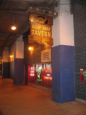Billy Goat Tavern - The Billy Goat Tavern on Michigan Avenue