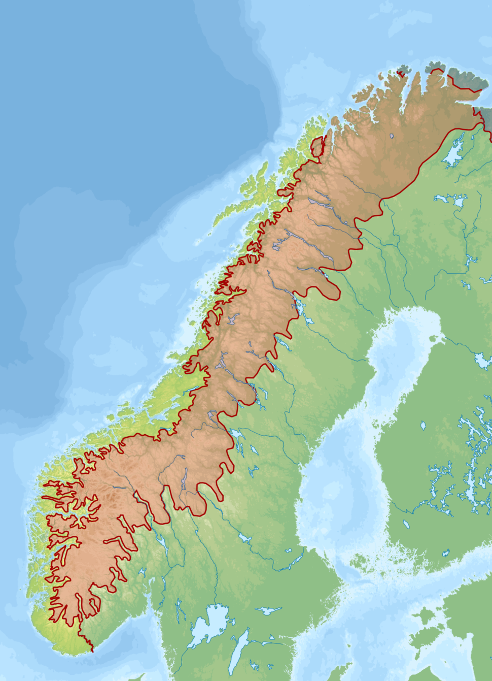 Biogeographical regions Scandinavian mountains