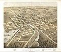 Bird's eye view of the city of Beaver Dam, Dodge Co., Wisconsin 1867. LOC 73694535.jpg