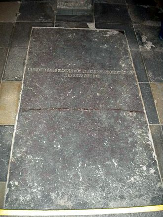 Martha of Denmark - Margaret's and Birger's grave at Ringsted