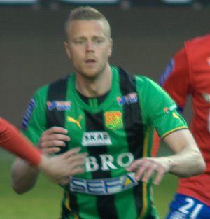 Björn Andersson (footballer, born 1982) - Image: Björn A