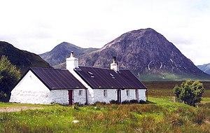 Ladies' Scottish Climbing Club - Image: Black Rock Cottage geograph.org.uk 107935