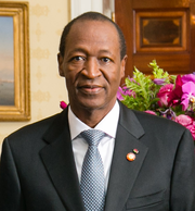 Blaise Compaoré 2014 White House