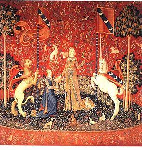 La dame la licorne wikip dia - Tapisserie dame a la licorne ...
