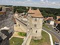 Blandy (77), château, tour des Archives 5.jpg