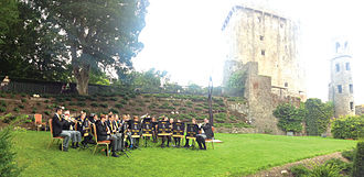 Blarney - Blarney Brass and Reed Band at Blarney Castle