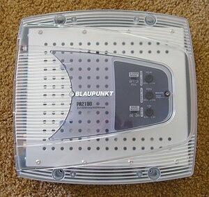 "Class-T amplifier - Blaupunkt PA2150 T-Amp, ""Powered by Tripath"""