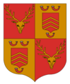 Blazon of the seignory of Kessenich.png