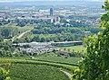 Blick über das AQUAtoll Freizeitbad Richtung Heilbronn vom Scheuerberg - panoramio.jpg