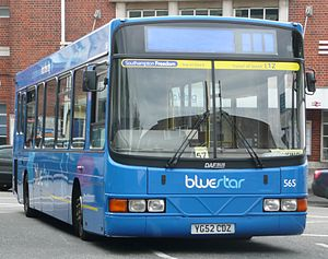 Wright Cadet - A Wright Cadet on DAF SB120 chassis operated by Bluestar.