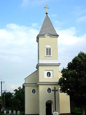 L'église catholique Saint-Elias à Bođani