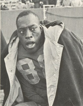 Bobby Grier (American football) - Grier from 1956 Owl