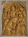 Bodilis (29) Église Notre-Dame Autel et retable de la Vierge 02.JPG