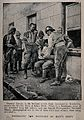 Boer War; wounded soldiers being bandaged at Klip's Drift af Wellcome V0015536.jpg