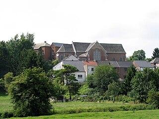 Boignée Village in Namur, Belgium