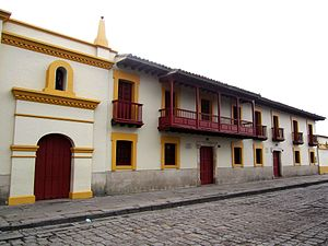 Bojacá - Image: Bojacá Cundinamarca Plaza central