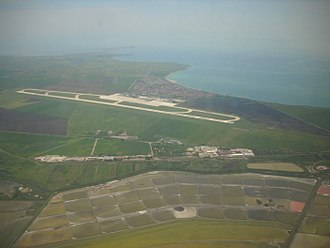 Burgas Airport - Aerial view of Burgas Airport