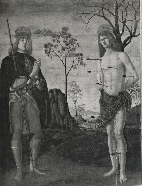 File:Bonascia Bartolomeo , San Rocco e san Sebastiano.jpg